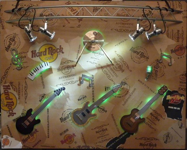 Hard Rock Cafe - Kunst und Design